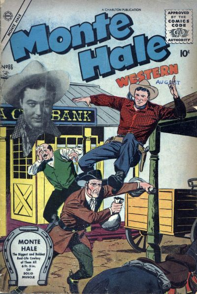 Cover for Monte Hale Western (Charlton, 1955 series) #86