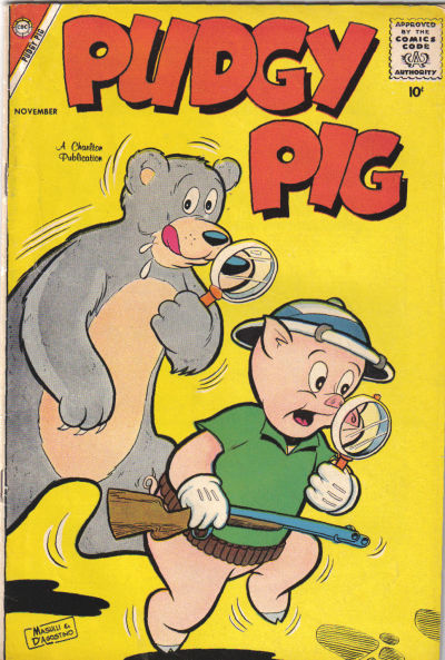 Cover for Pudgy Pig (Charlton, 1958 series) #2