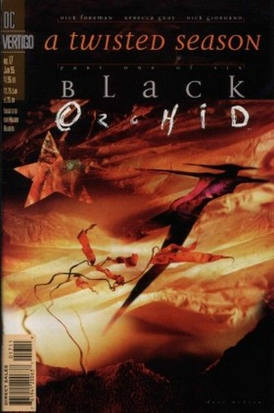 Cover for Black Orchid (DC, 1993 series) #17