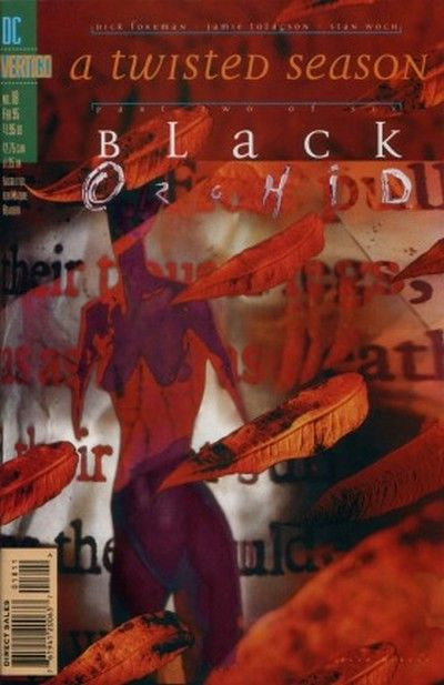 Cover for Black Orchid (DC, 1993 series) #18