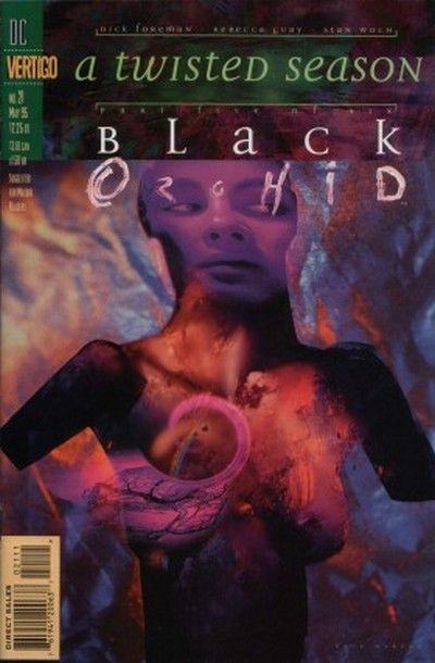 Cover for Black Orchid (DC, 1993 series) #21