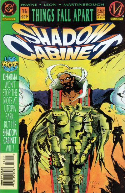 Cover for Shadow Cabinet (DC, 1994 series) #16