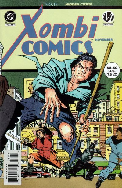 Cover for Xombi (DC, 1994 series) #18