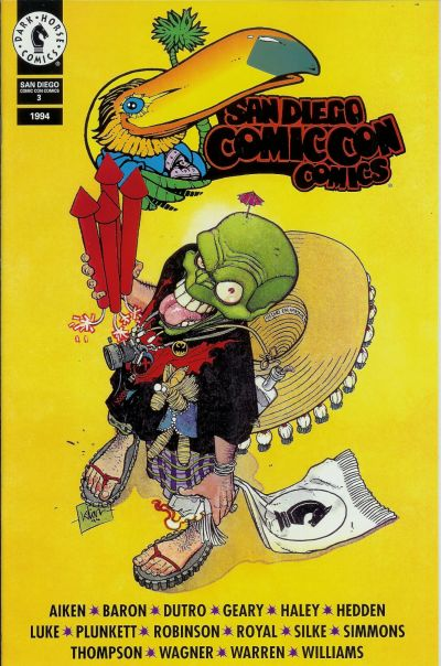 Cover for San Diego Comic Con Comics (Dark Horse, 1992 series) #3