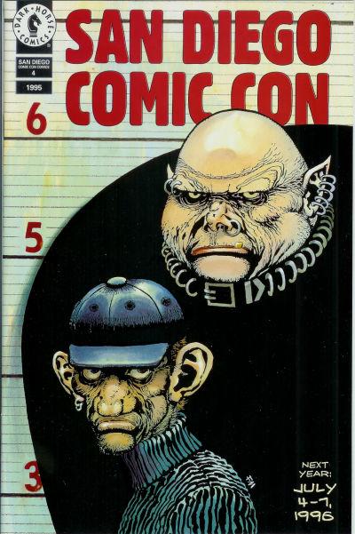 Cover for San Diego Comic Con Comics (Dark Horse, 1992 series) #4