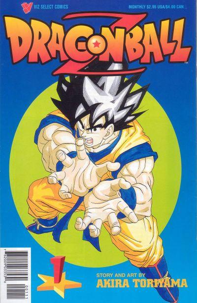 Cover for Dragon Ball Z (Viz, 1998 series) #1