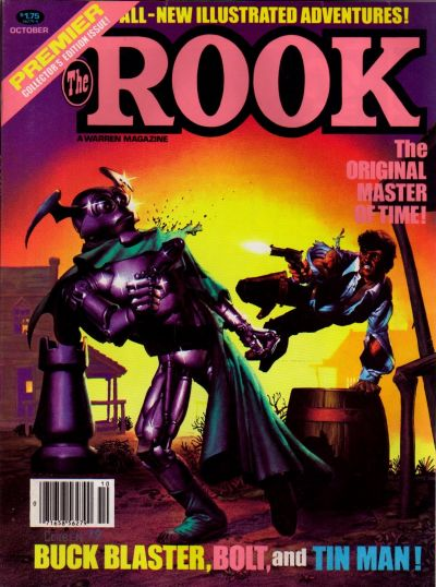 Cover for The Rook Magazine (Warren, 1979 series) #1 [1.75 cover price]