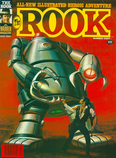 Cover for The Rook Magazine (Warren, 1979 series) #8