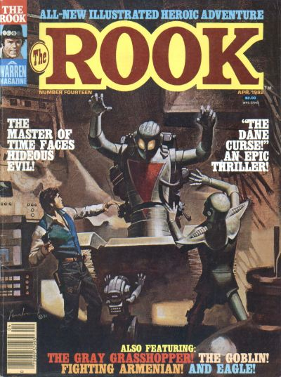 Cover for The Rook Magazine (Warren, 1979 series) #14