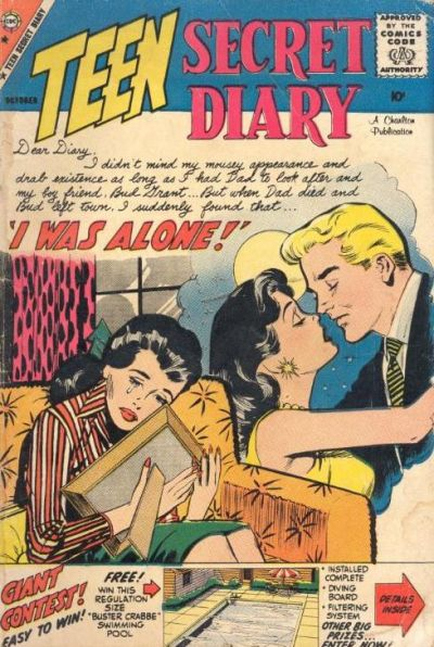 Cover for Teen Secret Diary (Charlton, 1959 series) #1