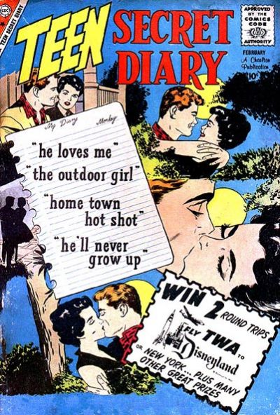 Cover for Teen Secret Diary (Charlton, 1959 series) #3
