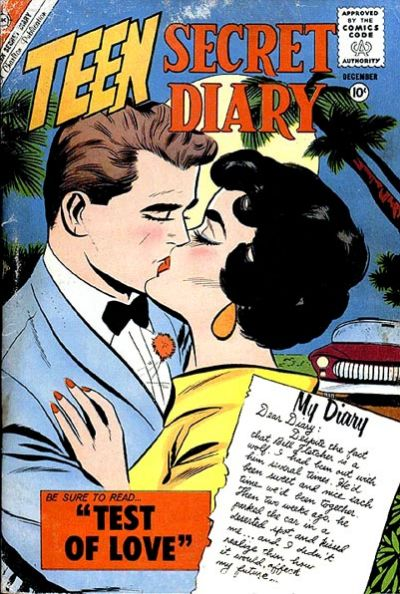 Cover for Teen Secret Diary (Charlton, 1959 series) #8