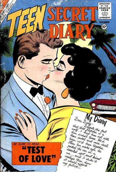 Cover for Teen Secret Diary (Charlton, 1959 series) #8