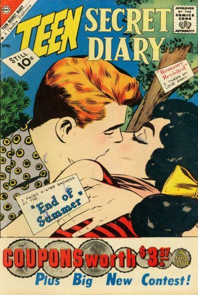 Cover for Teen Secret Diary (Charlton, 1959 series) #10