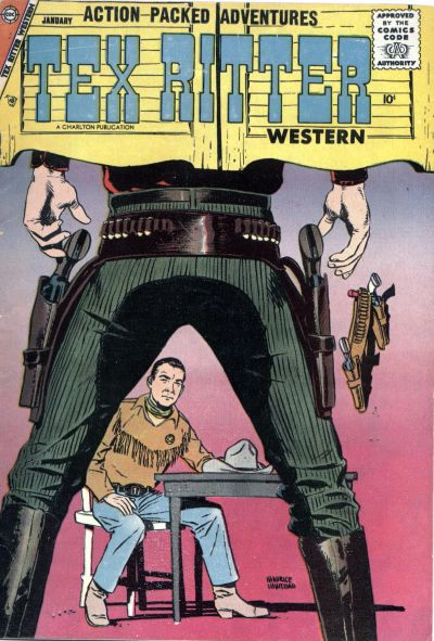 Cover for Tex Ritter Western (Charlton, 1954 series) #39