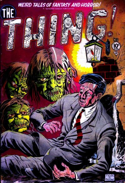 Cover for The Thing (Charlton, 1952 series) #1