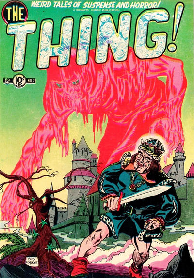 Cover for The Thing (Charlton, 1952 series) #2