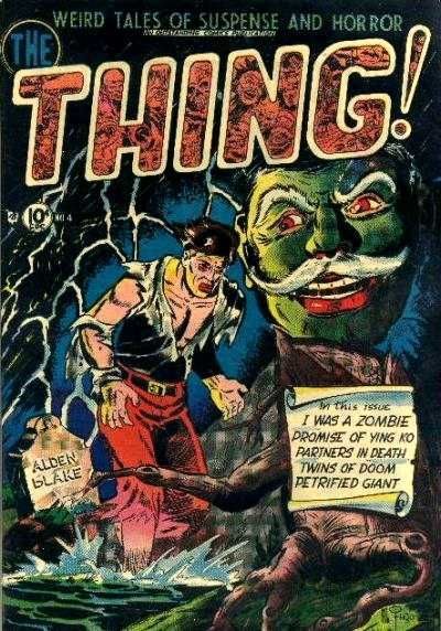 Cover for The Thing (Charlton, 1952 series) #4