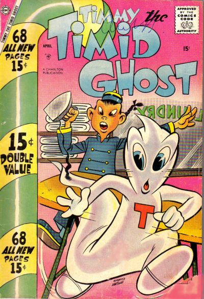 Cover for Timmy the Timid Ghost (Charlton, 1956 series) #11