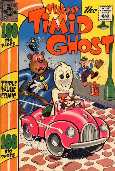 Cover for Timmy the Timid Ghost (Charlton, 1956 series) #12