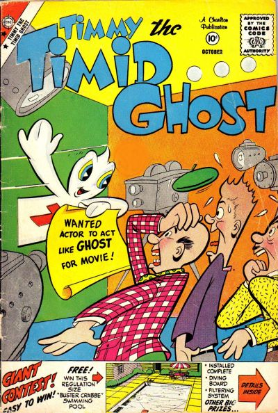 Cover for Timmy the Timid Ghost (Charlton, 1956 series) #17