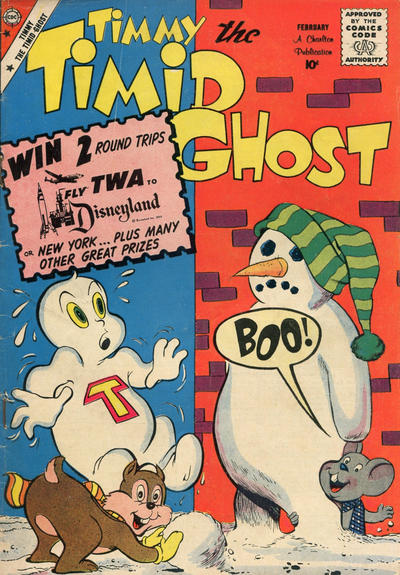 Cover for Timmy the Timid Ghost (Charlton, 1956 series) #19