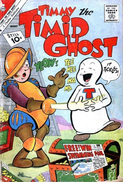 Cover for Timmy the Timid Ghost (Charlton, 1956 series) #28