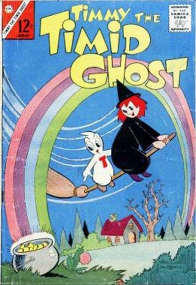 Cover for Timmy the Timid Ghost (Charlton, 1956 series) #42