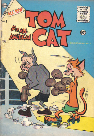 Cover for Tom Cat (Charlton, 1956 series) #4