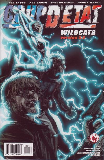 Cover for Coup D'Etat: Wildcats Version 3.0 (DC, 2004 series) #1 (3) [Alé Garza Cover]
