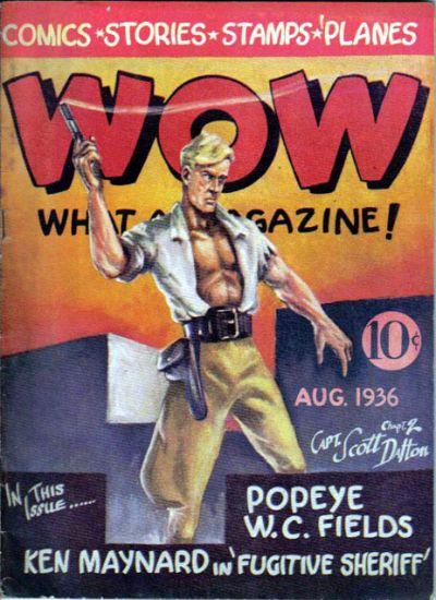 Cover for Wow — What a Magazine! (Henle Publications, 1936 series) #2