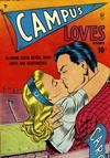 Cover for Campus Loves (Quality Comics, 1949 series) #1