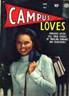 Cover for Campus Loves (Quality Comics, 1949 series) #3