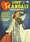Cover for Love Scandals (Quality Comics, 1950 series) #5
