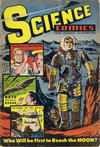 Cover for Science Comics (Export Publishing, 1951 series) #1 [Unpriced, Canada only edition]