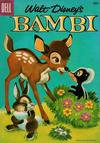 Cover for Walt Disney's Bambi (Dell, 1956 series) #3