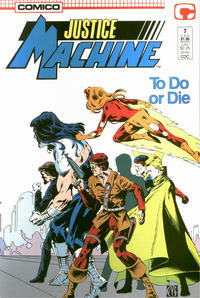 Cover Thumbnail for Justice Machine (Comico, 1987 series) #7