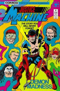 Cover Thumbnail for Justice Machine (Comico, 1987 series) #8