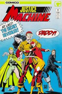 Cover Thumbnail for Justice Machine (Comico, 1987 series) #9