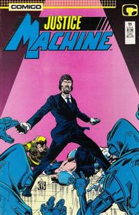 Cover Thumbnail for Justice Machine (Comico, 1987 series) #11