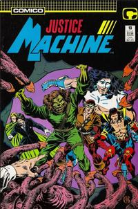 Cover Thumbnail for Justice Machine (Comico, 1987 series) #13