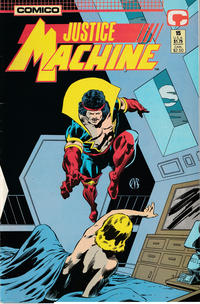 Cover Thumbnail for Justice Machine (Comico, 1987 series) #15