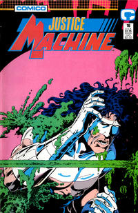 Cover Thumbnail for Justice Machine (Comico, 1987 series) #16