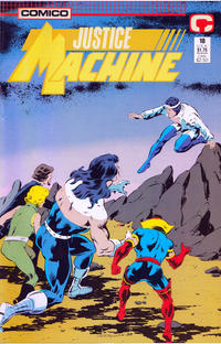 Cover Thumbnail for Justice Machine (Comico, 1987 series) #18