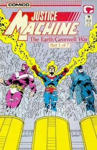 Cover Thumbnail for Justice Machine (Comico, 1987 series) #19