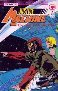 Cover Thumbnail for Justice Machine (Comico, 1987 series) #20