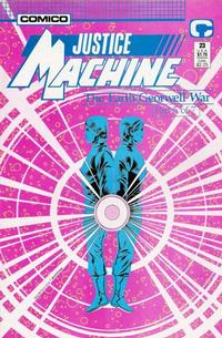 Cover Thumbnail for Justice Machine (Comico, 1987 series) #23