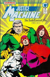 Cover Thumbnail for Justice Machine (Comico, 1987 series) #25