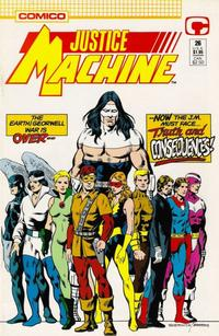 Cover Thumbnail for Justice Machine (Comico, 1987 series) #26