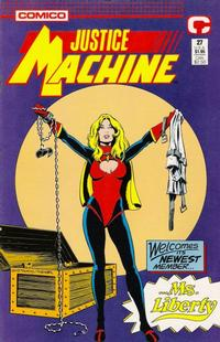 Cover Thumbnail for Justice Machine (Comico, 1987 series) #27